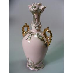 Váza - Růžový porcelán - Chodov