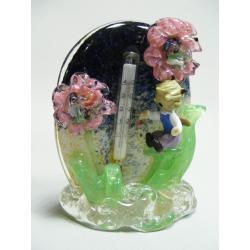 Teploměr - hutní sklo - Brouček
