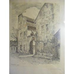 Karl Truppe (1887-1959) - Litografie
