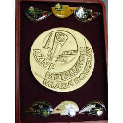 Škoda - AZNP Ml- Boleslav, závod metalurgie, 25 let.