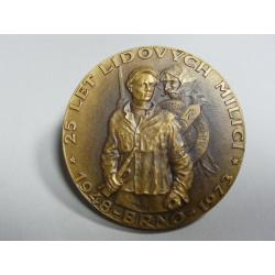 25 let lidových milicí - Brno 1973