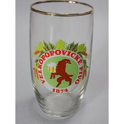 Pivní sklenice - Velkopopovický Kozel - 0,3 l