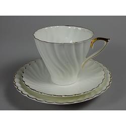 Šálek s podšálkem - porcelánka Jiesia