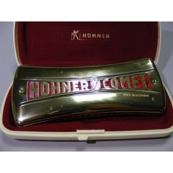Hohner Comet, No 3427, originální pouzdro
