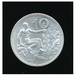 Mince 1932 - 10 Kč