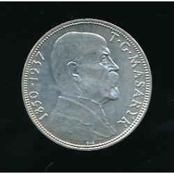 Mince 20 Kč - Úmrtí prezidenta T. G. Masaryka 1850 - 1937