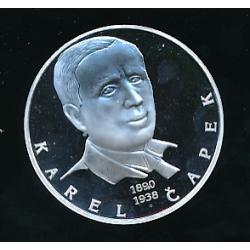 Medaile - Největší osobnosti českého národa - Karel Čapek