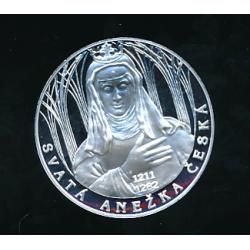 Medaile - Největší osobnosti českého národa - Svatá Anežka Česká