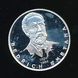 Medaile - Největší osobnosti českého národa - Bedřich Smetana