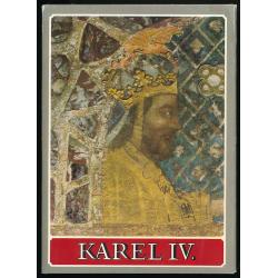 Karel IV. - Pohlednice