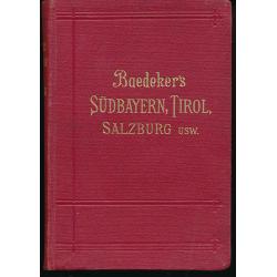 Baedeker´s Sudbayern, Tirol, Salzburg