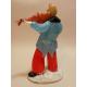 Skleněná figurka - houslista