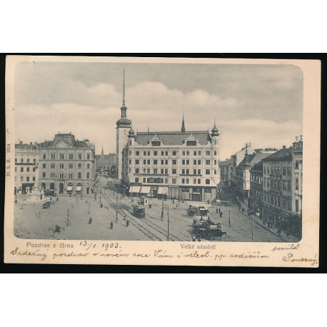 Brno - nám. Svobody