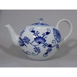 Konvice čajová  s víčkem 1,20 l, Cibulák, originální z Dubí