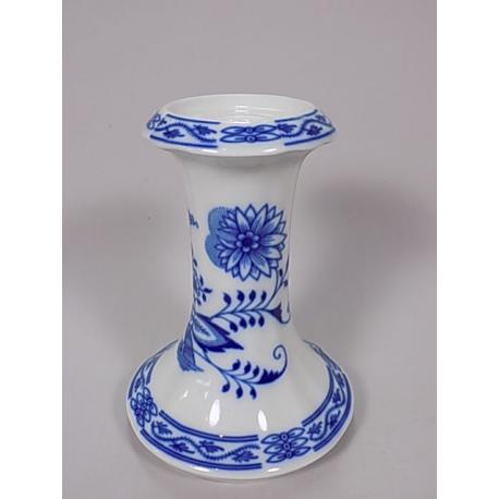 Svícen 15 cm, Cibulák, originální z Dubí