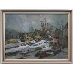 Dobeš Ludvík -  Chaloupka v zimě