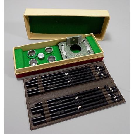 MEOPTA - stativ pro Mikromu v původní krabičce