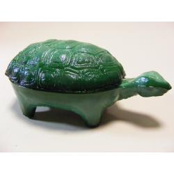 Želva - malachitové sklo