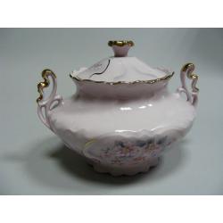 Cukřenka, Růžový porcelán - Chodov