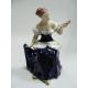 Žena se zrcedlem - Royal Dux